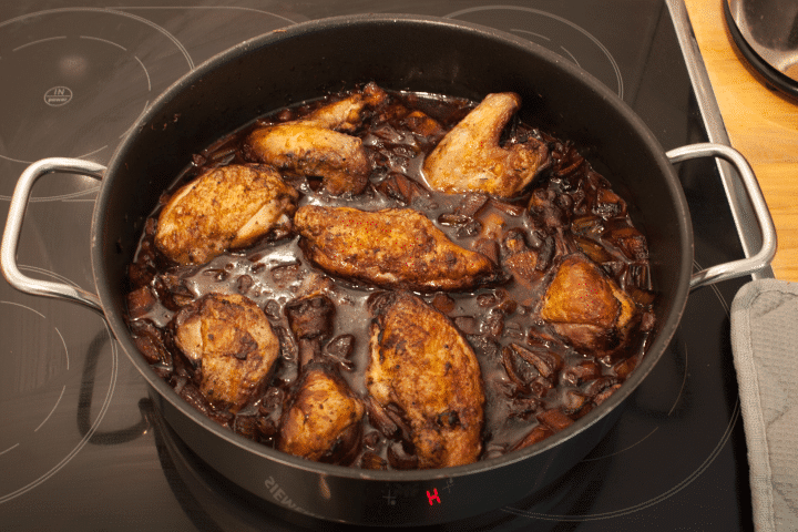 Easy Coq Au Vin Recipe Chicken In Red Wine Sauce
