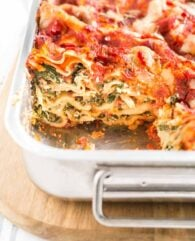 Spinach Lasagna Recipe