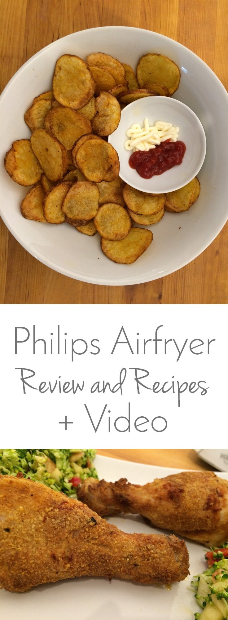 Philips Airfryer - Tasty Recipes and a YouTube Review