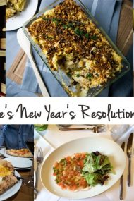 ... or the closest I'll get to being a vegetarian. What will we change in the way we eat for 2016? Here are our New Year's resolutions.