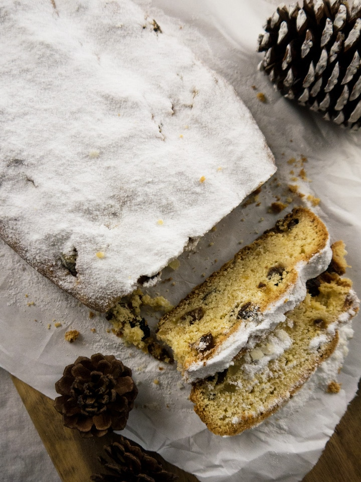 Traditional German Stollen for Christmas | Plated Cravings