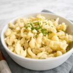 Easy German Spaetzle Recipe - ready in only 15 minutes and a great German side dish for all kinds of recipes! It's super easy to make from scratch and downright delicious.