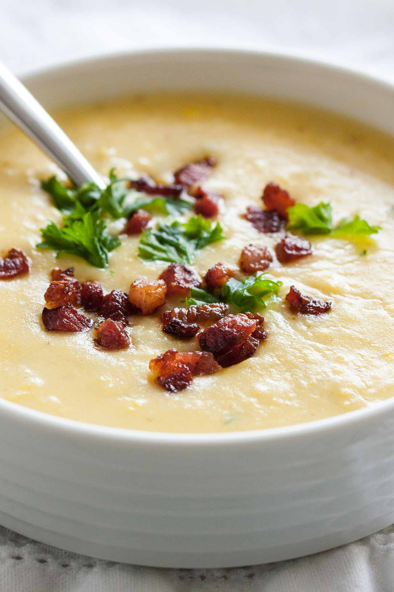 how to make sweet potato soup less sweet