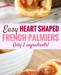 Heart Shaped Palmiers