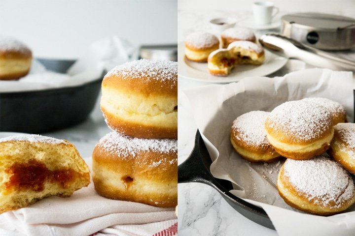 The Best Jelly filled Carnival Donuts