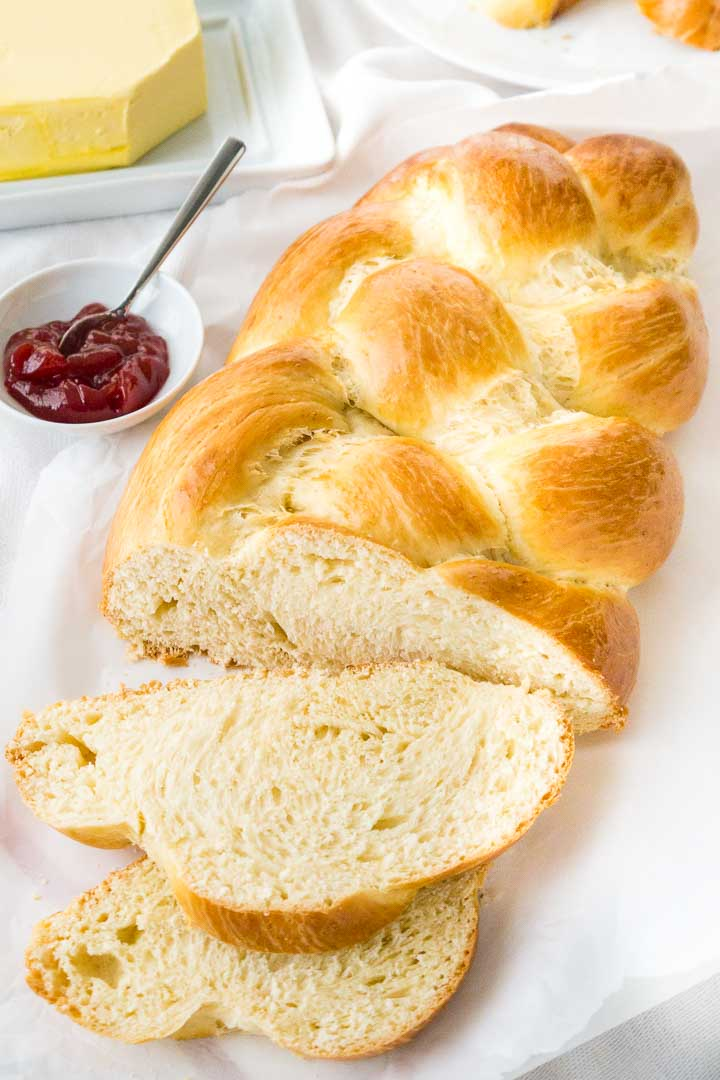 Braided Bread Recipe Sweet Braided Easter Bread Plated Cravings