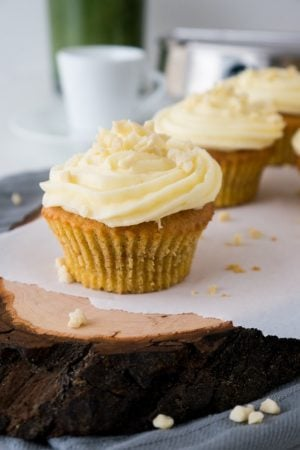 These Swiss Carrot Cake Cupcakes are deliciously moist and easy to make! They are an adaption of the famous Aargauer Rüebli Cake.