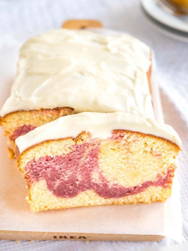 Starbucks Raspberry Swirl Cake