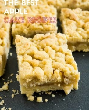 My favorite Apple Cake Recipes - try these recipes for some end-of-season baking!