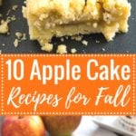 My favorite Apple Cake Recipes - try these recipes for some end-of-season baking! They all make a great alternative to apple pie and taste delicious!