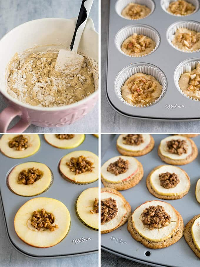 Apple Cinnamon Muffins are made with brown butter and topped with ...