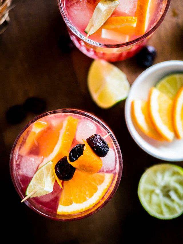 Orange Cranberry Moscow Mule