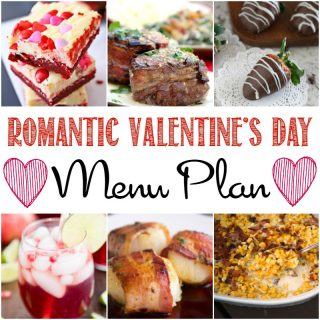 Romantic Valentine's Day Menu Plan - make your Valentin's Day perfect with the most romantic recipes! Find ideas for dinner, dessert and drinks to spoil your sweetheart.