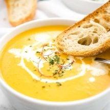 Instant Pot Carrot Soup Recipe