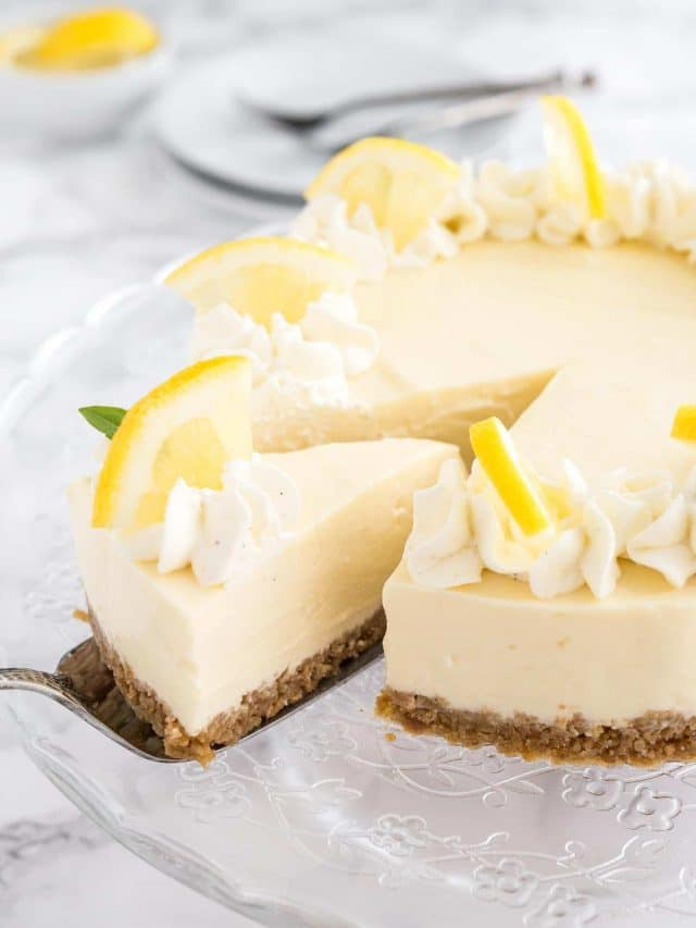 Easy Lemon Cream Pie Recipe With Mascarpone Plated Cravings