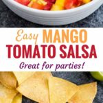 Fresh Tomato Salsa Recipe with Mango