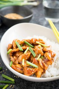 General Tso's Chicken is one of the most popular Chinese Food takeout dishes that is sweet, slightly spicy, and so easy to make at home!