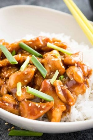 Healthy General Tso Chicken Recipe