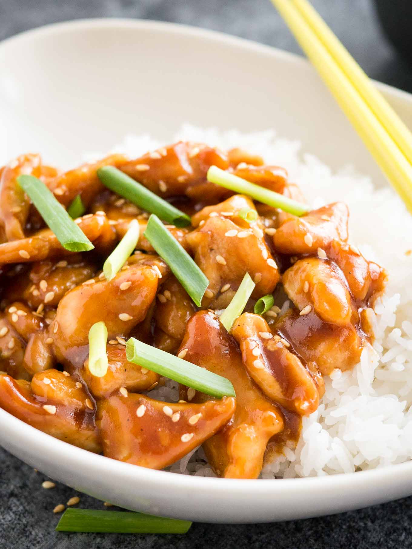 Easy Healthy General Tso's Chicken Recipe