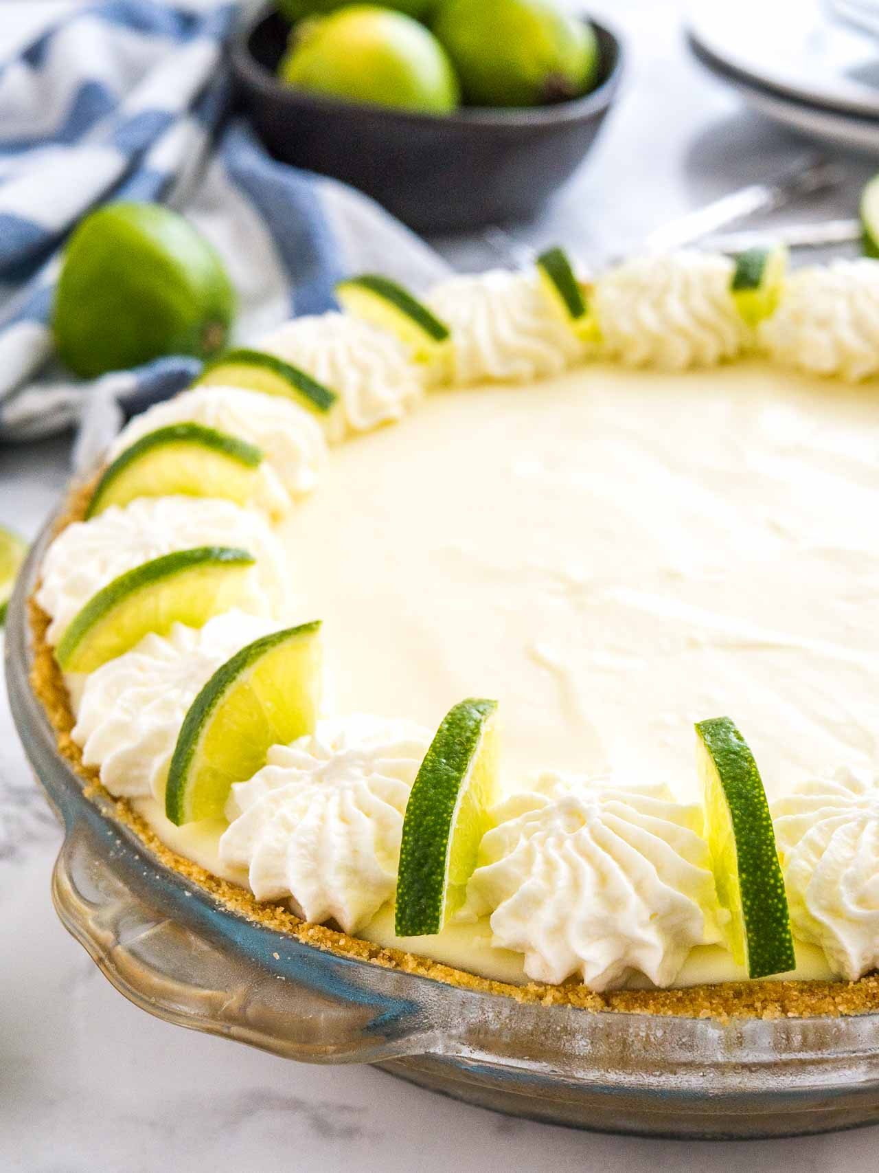 No bake key lime pie key lime cream pie plated cravings no bake key lime pie is a delicious easy summer dessert made with only a forumfinder Image collections