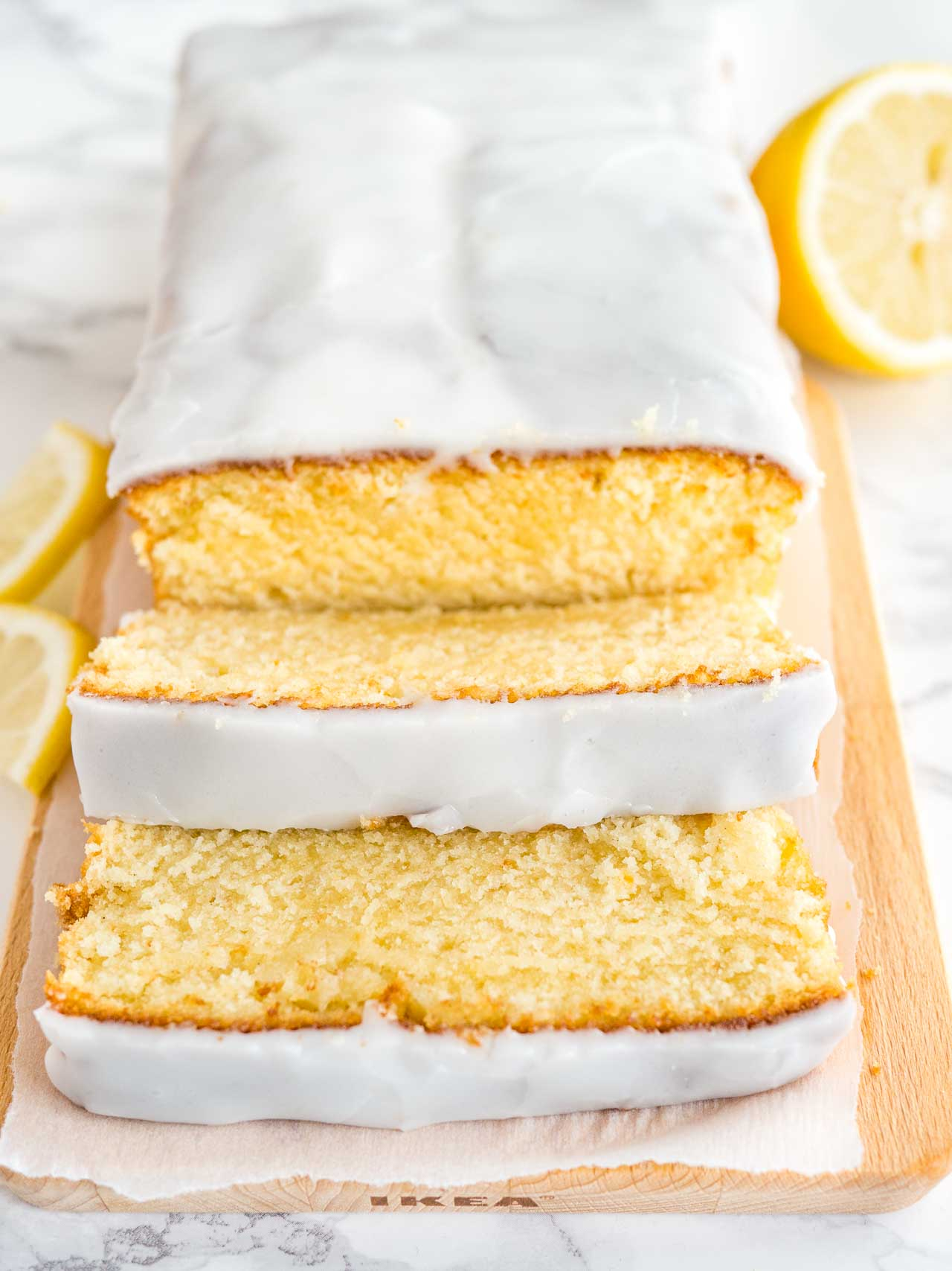 Moist Lemon Syrup Cake