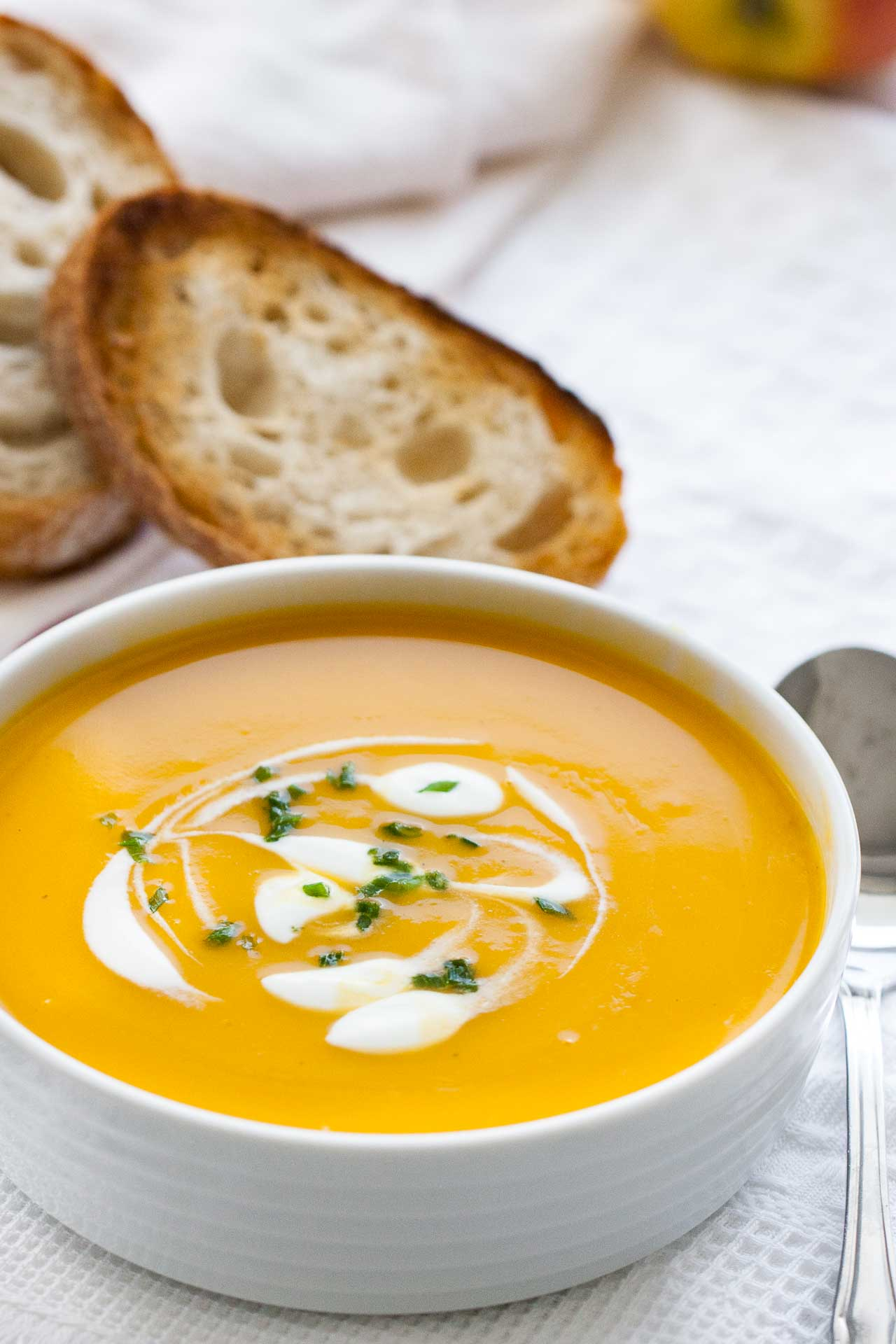 How to make butternut squash soup better