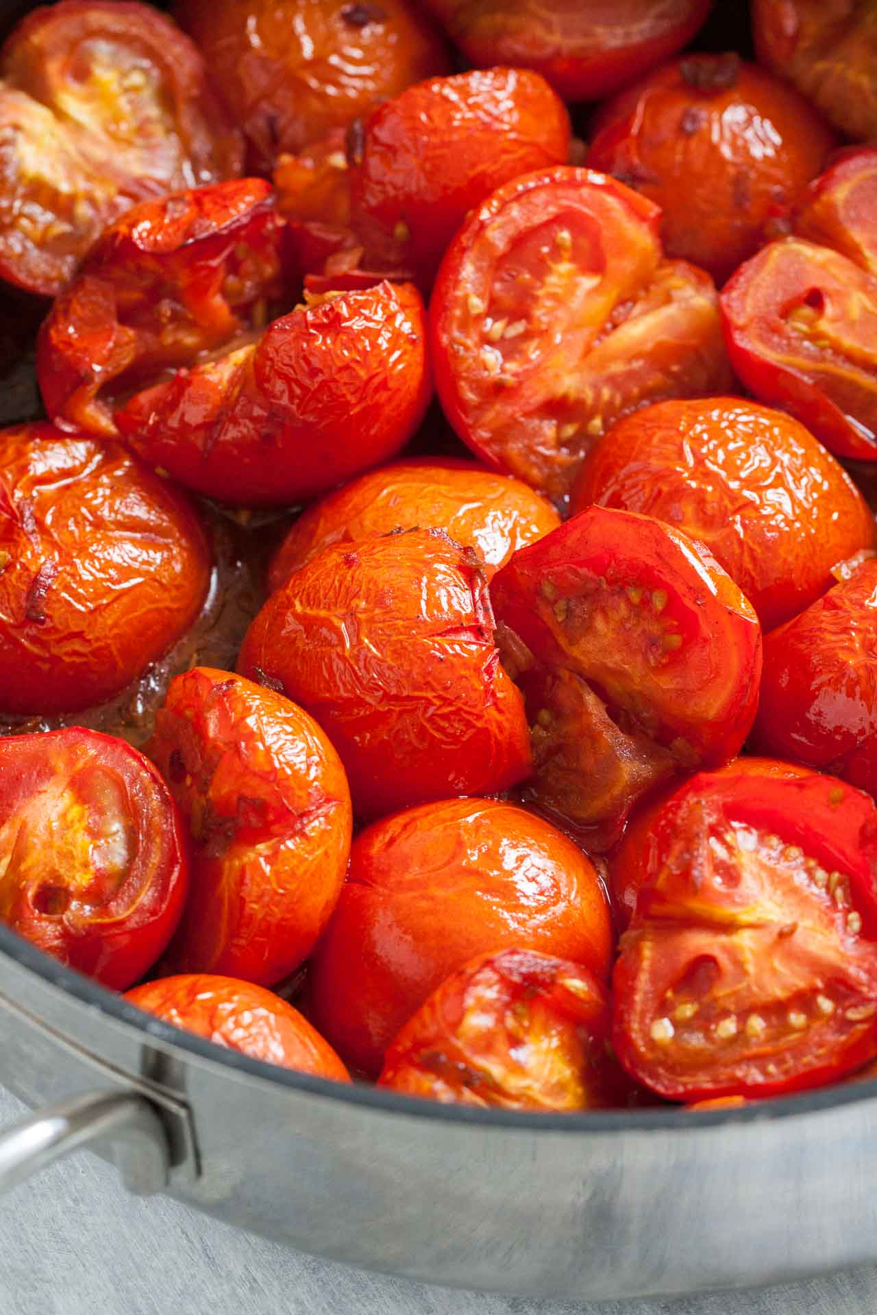 Roasted Tomatoes for the soup