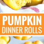 These Pumpkin Dinner Rolls are so soft and fluffy!My go-to fall roll recipe is special enough for Thanksgiving dinner buteasy to make, freezer-friendly, and so delicious with just the right amount of pumpkin flavor.