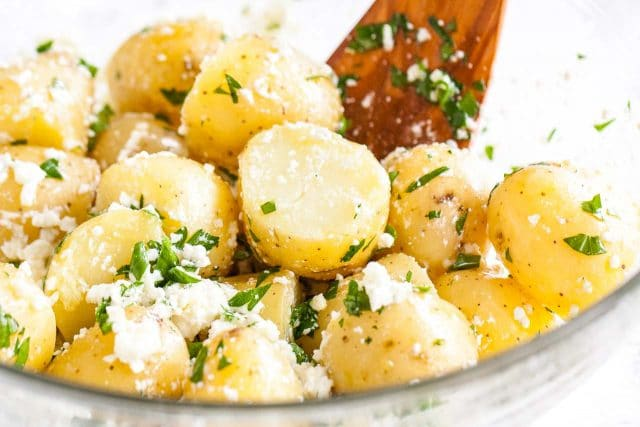 Herbed Boiled Potatoes