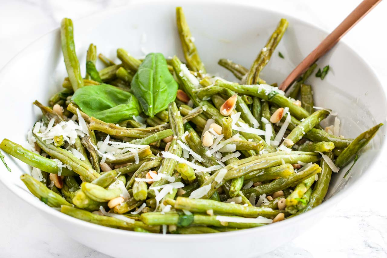 Parmesan Oven Roasted Green Beans are a perfect side dish for holidays or family dinners! This recipe is the most delicious way to enjoy fresh green beans.