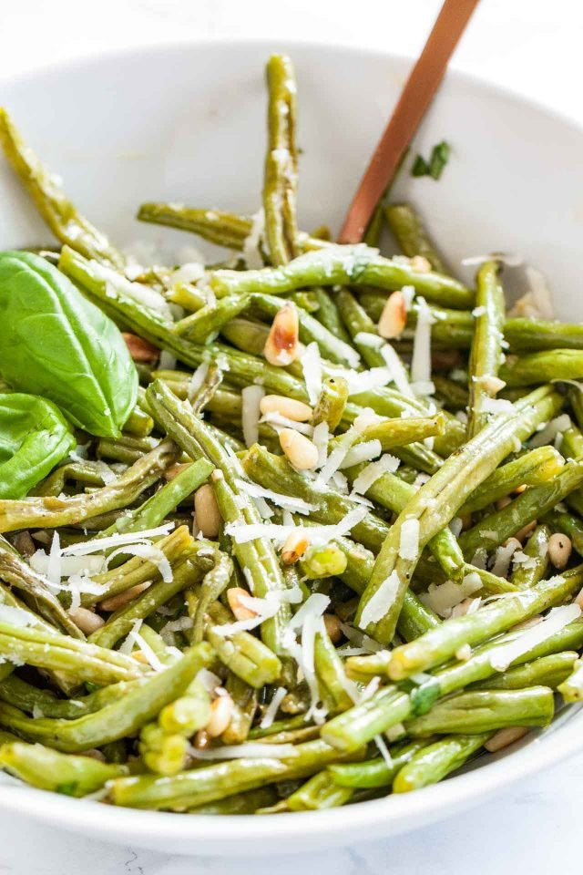 Parmesan Oven Roasted Green Beans