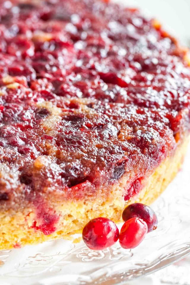 Cranberry Christmas Cake is made with fresh cranberries and has a perfectly balanced flavor! A festive cake for the Holiday season!