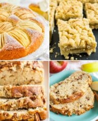 Three Must Try Apple Cake Recipes that are superpopular on Plated Cravings and loved by family, friends, and readers! All three recipes are made from scratch and taste delicious.