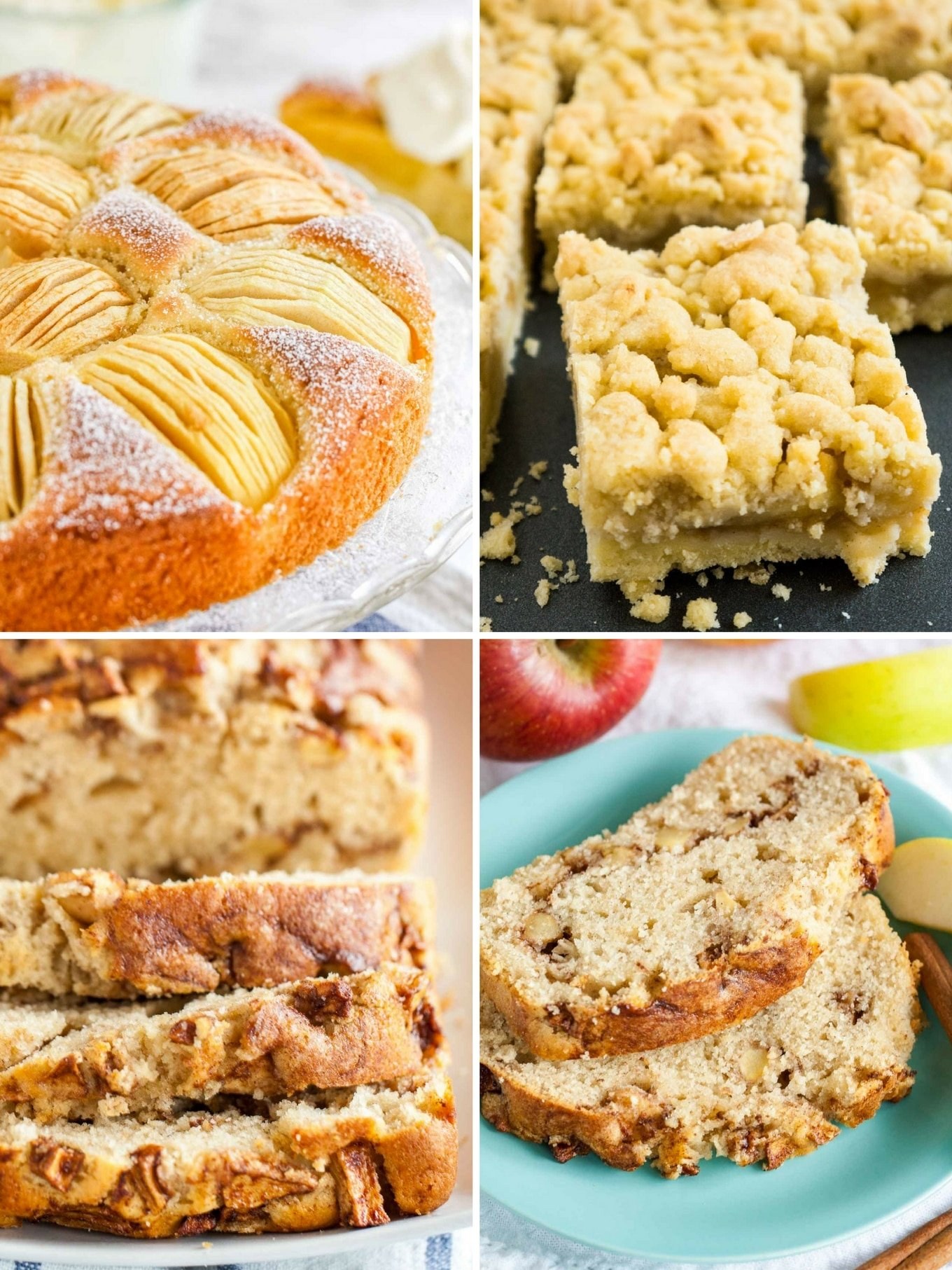 Three Must Try Apple Cake Recipes that are super popular on Plated Cravings and loved by family, friends, and readers! All three recipes are made from scratch and taste delicious.
