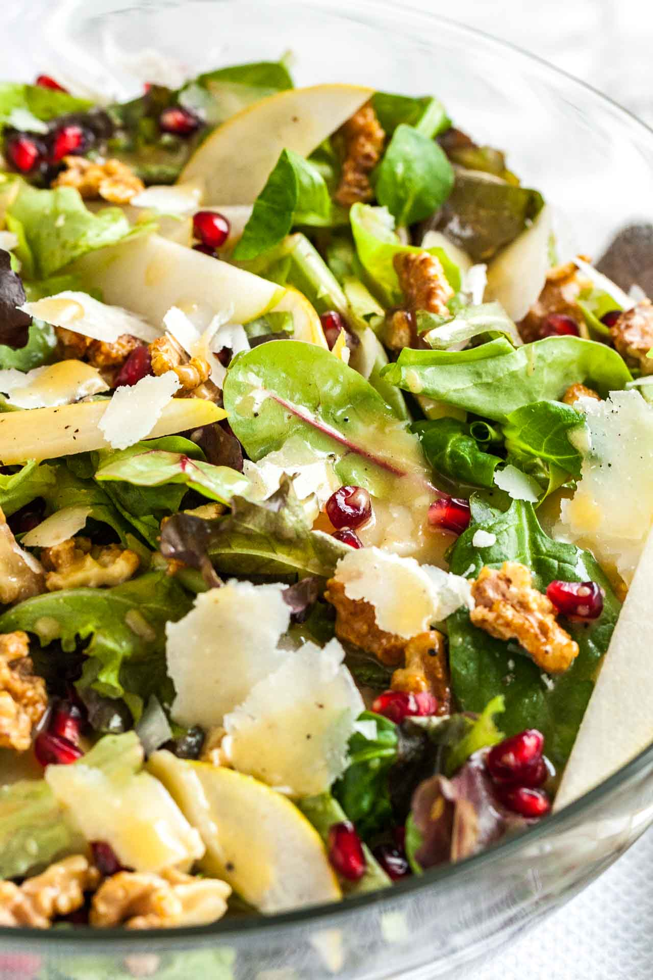 This easy pear salad belongs on your dinner table this Thanksgiving!