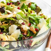 Pomegranate Pear Salad