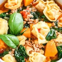Spinach Tortellini Soup Recipe