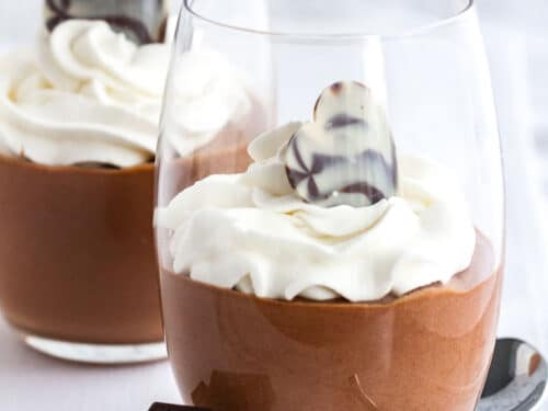 Easy Chocolate Mousse Recipe Eggless Chocolate Mousse