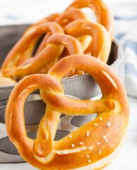 Bavarian Pretzels Recipe (Laugenbrezen)