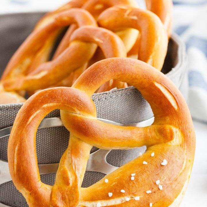 Bavarian Pretzels Recipe (Laugenbrezen)
