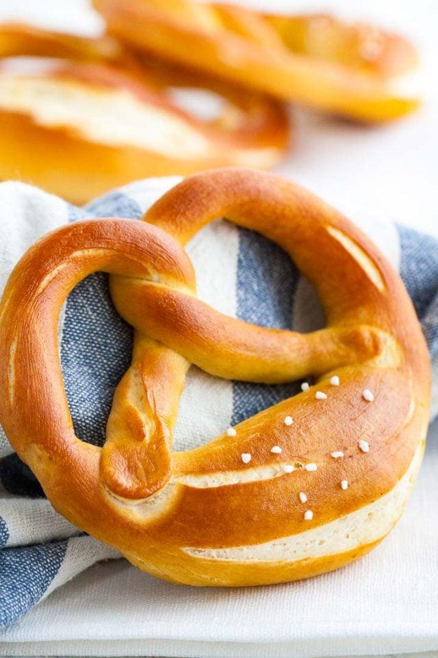 German Soft pretzels