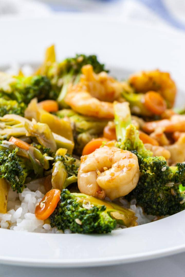 Honey Garlic Shrimp And Broccoli Stir Fry Plated Cravings