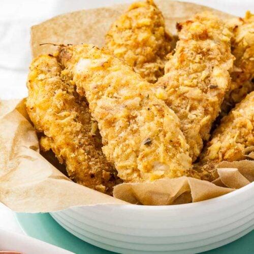 air fryer chicken tenders with flour
