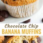 Easy Banana Chocolate Chip Muffins