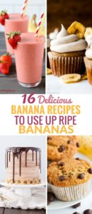 Ripe Banana Recipes