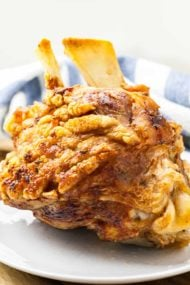 German Pork Hock (Schweinshaxe Recipe)