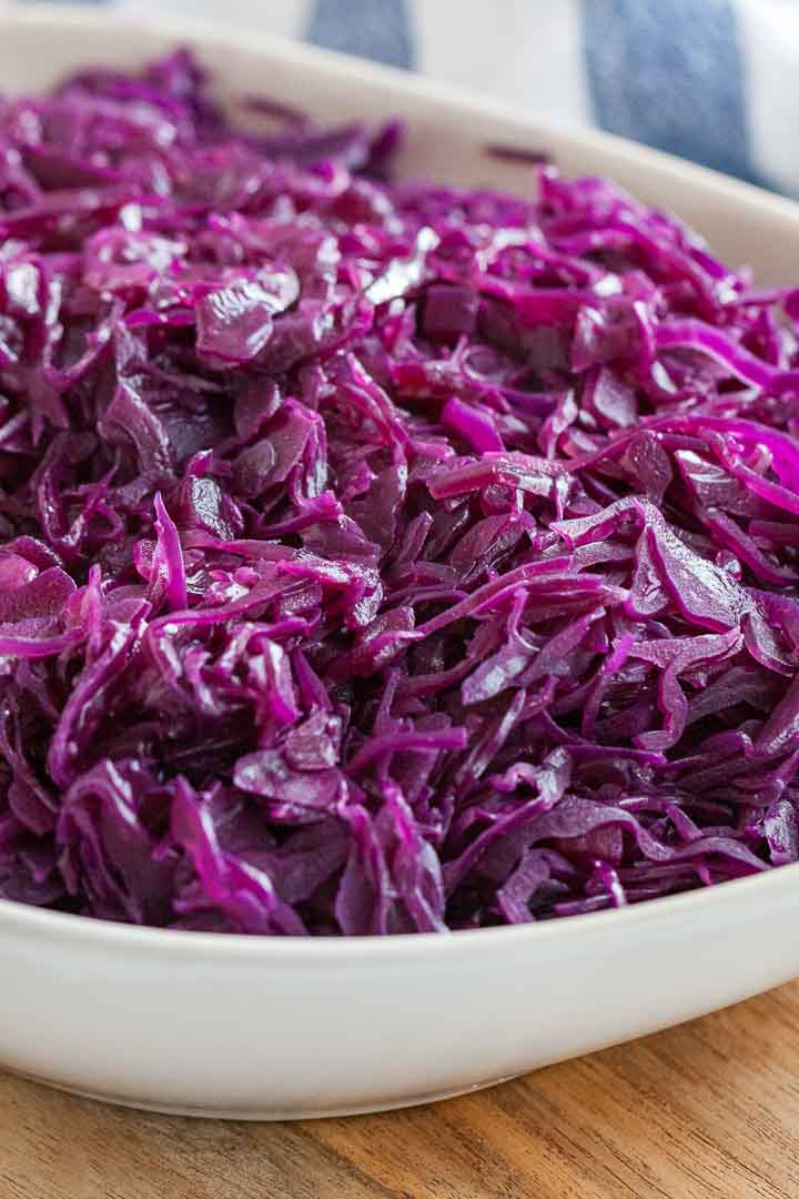 German Red Cabbage Traditional Rotkohl Recipe Plated Cravings
