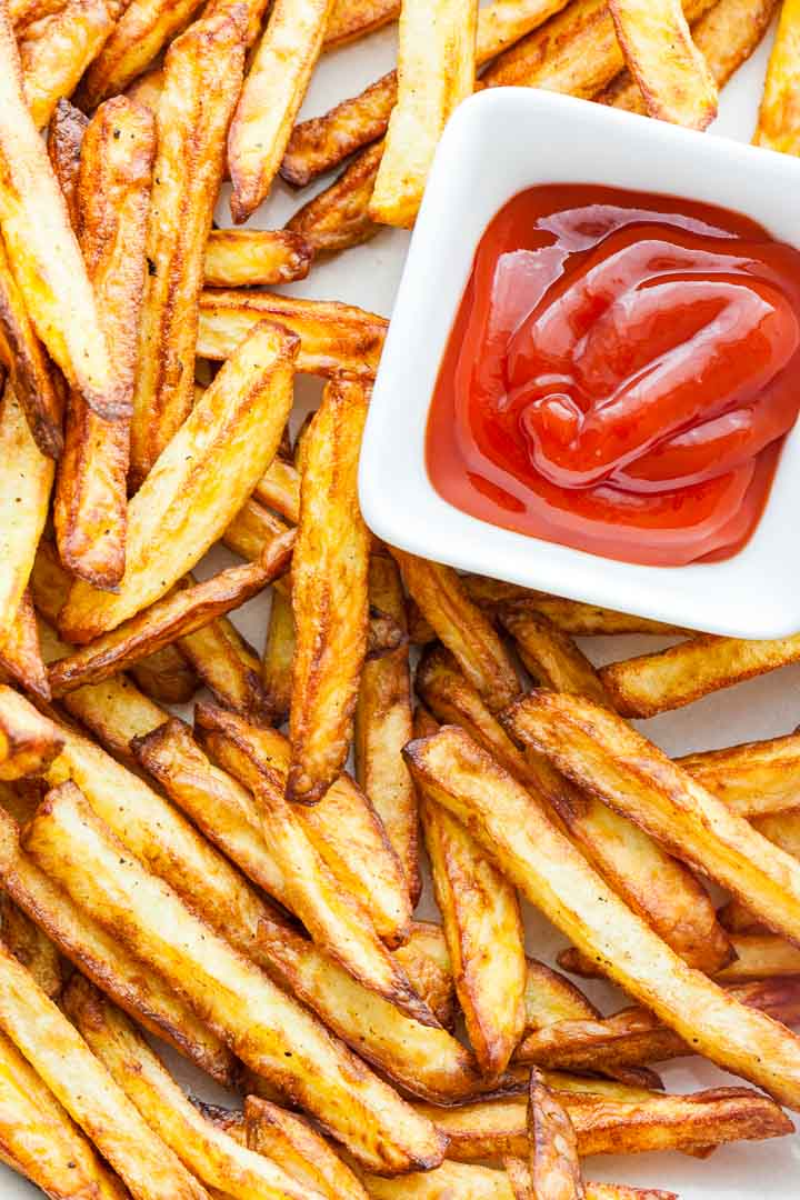 Air Fryer French Fries Crispy Amp Healthy Plated Cravings