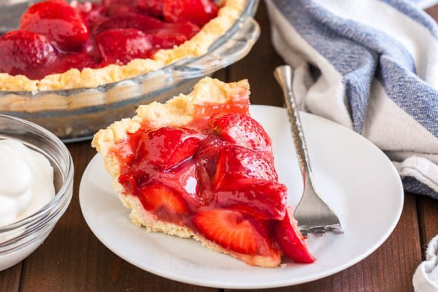 Strawberry Pie without Jello