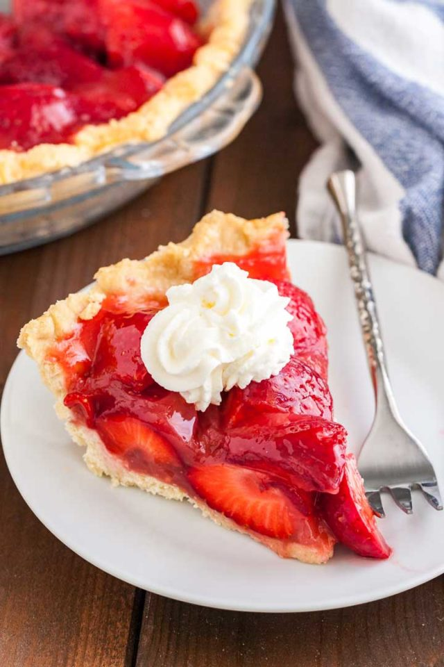 Fresh Strawberry Pie Without Jello Plated Cravings